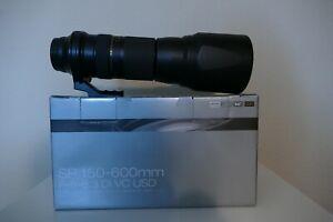 TAMRON SP 150-600mm f5-6,3 Di VC USD für Canon OVP + Lenscover
