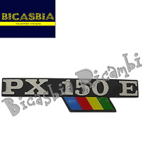 1243 - TARGHETTA COFANO COFANI MOTORE LATERALE VESPA 150 PX ARCOBALENO PX 150 E