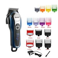 Cordless Professional Barber Hair Clipper Cuttings Machine for Men Body Grooming