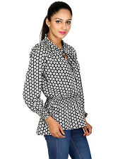 Paisley 3/4 Sleeve Tall Tops & Blouses for Women
