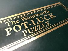 """Wentworth Wooden Jigsaw Puzzle - """"Pot Luck"""" (hint: nice picture) - 250 Pcs Comp."""