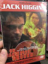 On Dangerous Ground brand NEW/sealed region 4 DVD (1996 Jack Higgins movie) RARE