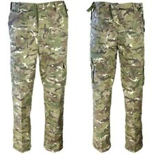 MENS ARMY COMBAT TROUSERS 30-44 CAMO CARGO PANTS BIKER WORKWEAR BLACK URBAN