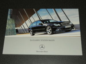 MERCEDES-BENZ classe C wagon brochure catalogue souple édition 10/2004