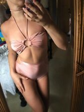 Lavish Alice Bikini Rose Gold Blush Pink Size 8/10 BNWT