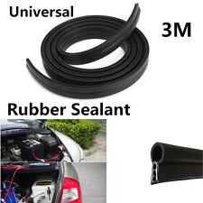 New 3M Rubber O U Shape Channel Edging Trim Seal Strip For Car Door Window Frame