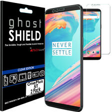 2x TECHGEAR (TPU) FULL COVERAGE Screen Protector Covers for OnePlus 5T