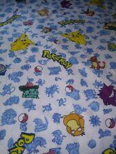 Vintage Pokemon Pikachu Blanket Twin Sz Bedding Theme
