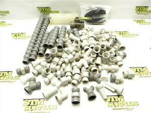 """LARGE LOT OF NEW 1/2"""" CEDARBERG SNAP-LOC SYSTEMS PARTS & ACCESSORIES +"""
