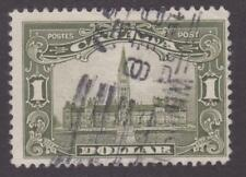 """Canada 1929 - 159 KGV """"Scroll"""" Issue: Parliament Building - F Used"""