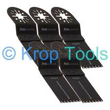 5 Multi Tool Blades Erbauer Makita Milwaukee 35mm Precision Wood by KROP
