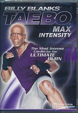 Billy Blanks: Tae Bo Max Intensity DVD NEW Ultimate Cardio Burn