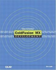 Good, Macromedia Coldfusion Mx Development, Ladd, Eric, Book