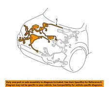 HONDA OEM-Engine Control Module ECM PCU PCM Wiring Harness Right 32100TG8A10
