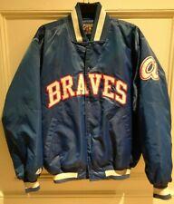 Vintage Retro Rare Atlanta Braves Starter Bomber Jacket MLB Large