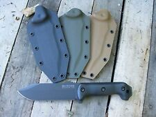 Valhalla Custom Kydex Sheath Ka-Bar Becker10 Bk10 Crewman Coyote Sheath Only