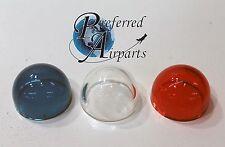 New Set of 3 Nav Light Lenses for Whelen/Grimes. A1280 W1284, AN3042, 68-4230020