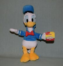 """Plush Disney Junior Mickey Mouse Clubhouse 11"""" Donald Duck w tag Just Play"""