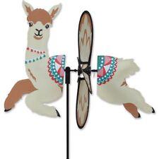 Adorable ALPACA Wind Spinner Premier Petite Garden Windspinner