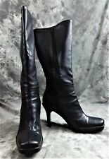 CONNIE LIBERTY BLACK WOMEN'S SIZE 9.5M BOOTS WITH ORIGINAL BOX