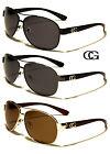 Polarized CG Eyewear Metal Fashion Designer Celebrity Aviator Sunglasses Shades