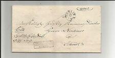 "Preussen V / BERLIN 5-6 20/2, kleiner K1 auf Justiz-Brief m. Btm.-Ra3 ""Hedler"""
