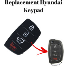 Hyundai Santa Fe Tucson Sonata ix35 ix20 ix45 i20 4 Button Remote Key Rubber Pad