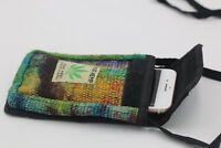 Hemp(THC FREE) bag - mobile, passport , cash  purse - unisex purse