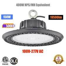 150 Watt UFO LED Light High Bay 5000K Warehouse Industrial Lighting AC 100-277V