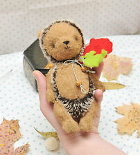 Mohair/ Viscose Hedgehog  Sewing Kit ,7  Inch