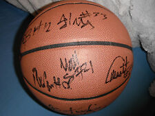 2017-18 NOTRE DAME TEAM SIGNED BASKETBALL BONZIE COLSON MIKE BREY