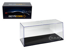 COLLECTABLE DISPLAY SHOW CASE 1/18 WITH BLACK BASE 14003