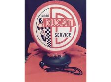 NEW Petrol Bowser Globe and Base Ducati illuminated sign