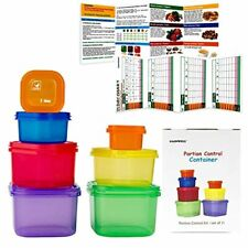 New listing 21 Day Meal Portion Containers and Food Plan - Portion Control Containers by Ga