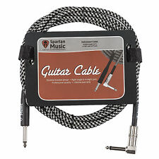 Electric / Bass / Instrument Guitar Lead 3 Meter 10ft Cable Jack Right Angle