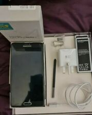 Samsung Galaxy Note 4 N910F Factory Unlocked. Charcoal Black. Used.