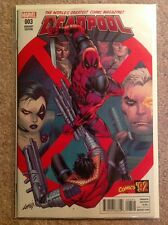 DEADPOOL #3 LIEFELD MARVEL 92 Variant (2015) NM+