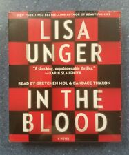 In the Blood by Lisa Unger (2014, CD, Unabridged)NEW