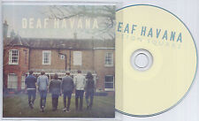 DEAF HAVANA Boston Square 2013 UK 1-trk promo test CD