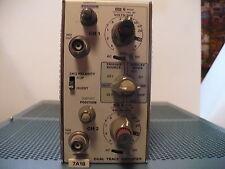 Tektronix 7A18 Dual Trace Amplifier
