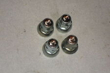 Vintage Motobecane  FRONT  Hub Axle Nuts, French Threaded, Made By Maillard.NOS
