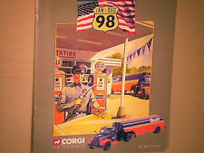 RARE CATALOGUE VENDEUR CORGI USA Gd FORMAT 1er SEM.1998/CAMION/AUTO 1960/70