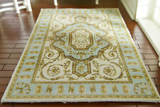 Traditional French Aubusson Design Rug for 1/12 Scale Dollhouse