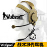 Tactical Bowman Elite Headset III Microphone for Walkie Talkie CS Communication