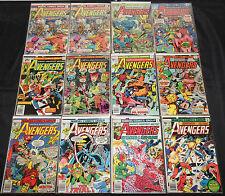 Marvel Bronze-Modern AVENGERS 150pc Count Comic Lot Grade VG-NM Captain America
