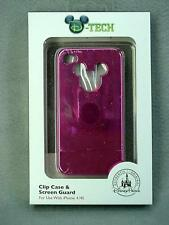 Disney Parks Mickey Mouse Pink Disneyland Resort Cell Phone Case iPhone 4/4S New