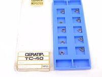 LAST 10pcs Ceratip WBGH 521 FLX Cermet Inserts, Grade TC40, New Surplus