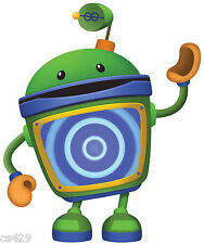 "9.5"" Team umizoomi bot birthday wall decal decor cut out character"