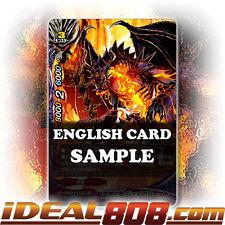 Buddyfight x 4 Jet Black Crest Dragon, Jayblist [X-BT02/0092EN C] English Mint F