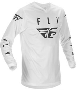 FLY RACING FLY UNIVERSAL JERSEY - WHITE/BLACK